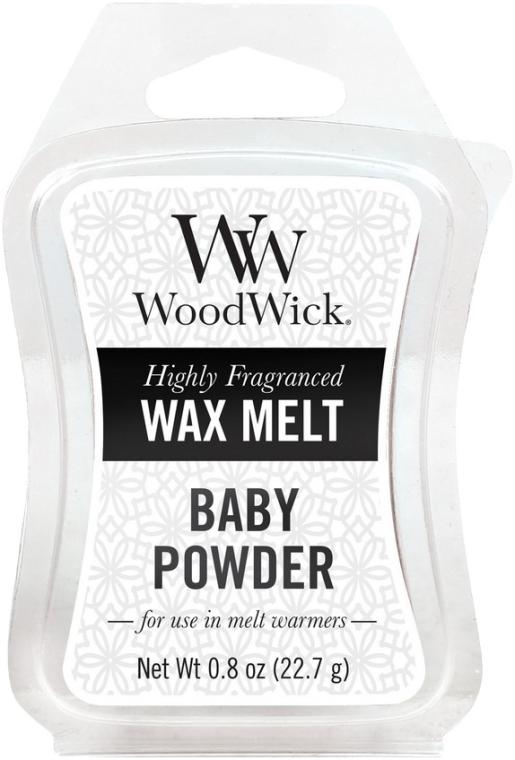 Duftwachs Baby Powder - WoodWick Wax Melt Baby Powder