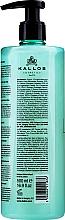 Sulfatfreies Shampoo für coloriertes Haar mit Arganöl und Bambusextrakt - Kallos Cosmetics Lab 35 Shampoo Shulfate-Free — Bild N2