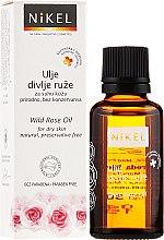Düfte, Parfümerie und Kosmetik Wildrosenöl für trockene Haut - Nikel Wild Rose Oil