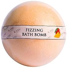 Düfte, Parfümerie und Kosmetik Sprudelnde Badebombe mit Mangoduft - Kanu Nature Bath Bomb Mango