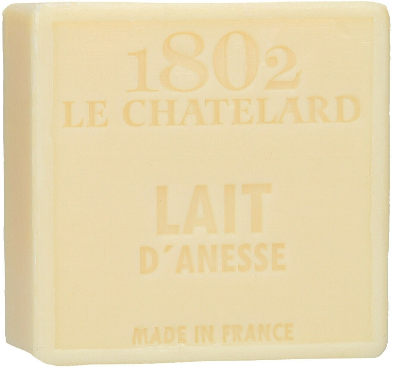 Natürliche Seife mit Eselmilch - Le Chatelard 1802 Soap Milk