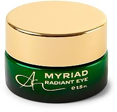 Düfte, Parfümerie und Kosmetik Revitalisierende Augencreme mit Grüntee-Extrakt und römischer Kamille - Ambasz Myriad Radiant Eye