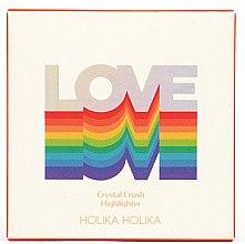 Düfte, Parfümerie und Kosmetik Highlighter - Holika Holika Love Who You Are Crystal Crush Highlighter