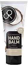 Düfte, Parfümerie und Kosmetik Aufweichender Handbalsam mit Kokosnuss und Sheabutter - Cosmepick Hand Balm Coco&Shea Butter