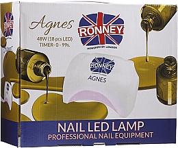 Düfte, Parfümerie und Kosmetik LED-Lampe für Nageldesign Agnes schwarz - Ronney Profesional Agnes Pro LED 48W (GY-LED-032)