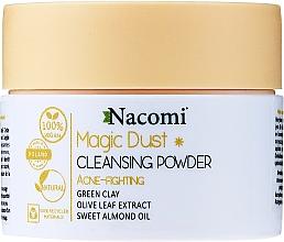 Düfte, Parfümerie und Kosmetik Gesichtsreinigungspuder gegen Akne mit Olivenblattextrakt, grünem Ton und süßem Mandelöl - Nacomi Face Cleansing & Acne Fighting Powder Magic Dust