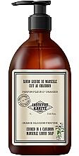 Düfte, Parfümerie und Kosmetik Flüssigseife mit Pflanzenölen und erfrischendem Orangenblütenduft - Institut Karite Orange Blossom So Vintage Marseille Liquid Soap