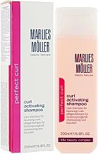 Düfte, Parfümerie und Kosmetik Pflegendes Shampoo für lockiges Haar - Marlies Moller Perfect Curl Curl Activating Shampoo