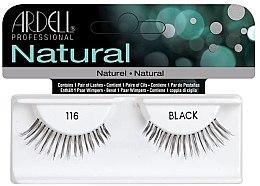 Düfte, Parfümerie und Kosmetik Künstliche Wimpern - Ardell Natural Lashes Black 116