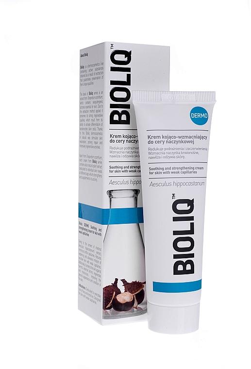 Beruhigende Gesichtscreme zur Stärkung der Blutgefäße - Bioliq Dermo Face Cream — Bild N1