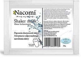 Düfte, Parfümerie und Kosmetik Alginat-Gesichtsmaske mit Hyaluronsäure - Nacomi Shaker Mask