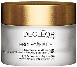 Düfte, Parfümerie und Kosmetik Reichhaltige straffende Liftingcreme für das Gesicht mit Lavendel- und Irisöl - Decleor Prolagene Lift Lift & Firm Rich Day Cream Lavender and Iris