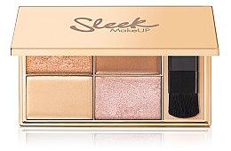 Düfte, Parfümerie und Kosmetik Highlighter-Palette - Sleek MakeUP Highlighting Palette