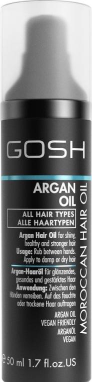 Arganöl für alle Haartypen - Gosh Argan Oil — Bild N1
