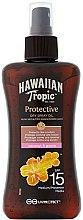 Düfte, Parfümerie und Kosmetik Trockenes Sonnenschutzspray-Öl für den Körper mit Kokosnuss und Guava SPF 15 - Hawaiian Tropic Protective Dry Spray Sun Oil SPF 15