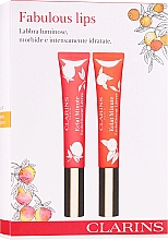 Düfte, Parfümerie und Kosmetik Lippenpflegeset (Lipgloss 2x12 ml) - Clarins Fabulous Lips Set