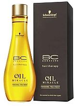 Düfte, Parfümerie und Kosmetik Öl für normales und hartes Haar - Schwarzkopf Professional Bonacure BC