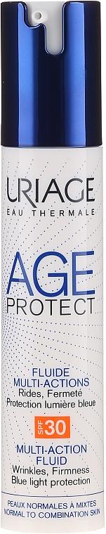 Gesichtsfluid für normale bis Mischhaut SPF 30 - Uriage Age Protect Multi-Action Fluid SPF30 — Bild N1