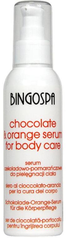 Pflegendes Körperserum Schokolade und Orange - BingoSpa Serum Chocolate & Orange — Bild N1