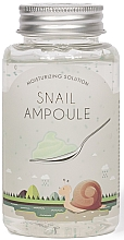 Düfte, Parfümerie und Kosmetik Ampullengel für das Gesicht mit Schneckenmucin - Esfolio Moisturizing Solution Snail Ampoule