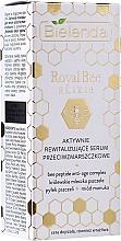 Düfte, Parfümerie und Kosmetik Aktives revitalisierendes Anti-Falten Gesichtsserum - Bielenda Royal Bee Elixir