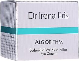 Düfte, Parfümerie und Kosmetik Verjüngendes glättendes und straffendes Augenkonturcreme-Gel - Dr Irena Eris Algorithm Splendid Wrinkle Filler Eye Cream