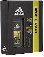 Düfte, Parfümerie und Kosmetik Adidas Pure Game - Duftset (Deodorant/75ml + Duschgel/250ml)