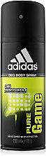 Düfte, Parfümerie und Kosmetik Adidas Pure Game - Deospray