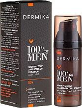 Düfte, Parfümerie und Kosmetik Gesichtscreme gegen tiefe Falten für Männer 50+ - Dermika Anti-Wrinkle And Anti-Furrow Cream 50+