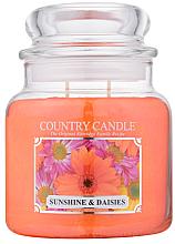 Düfte, Parfümerie und Kosmetik Duftkerze im Glas Sunshine & Daisies - Country Candle Sunshine & Daisies