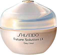 Düfte, Parfümerie und Kosmetik Feuchtigkeitsspendende Anti-Aging Tagescreme SPF 15 - Shiseido Future Solution LX Daytime Protective Cream SPF15
