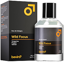 Düfte, Parfümerie und Kosmetik Beviro Wild Focus - Eau de Cologne