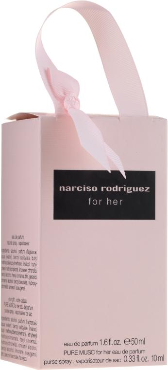 Narciso Rodriguez for Her - Duftset (Eau de Parfum 50ml + Eau de Parfum 10ml) — Bild N5