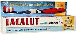 Düfte, Parfümerie und Kosmetik Zahnpasta Multi-Effect - Lacalut (Zahnpasta 75ml + Zahnbürste)