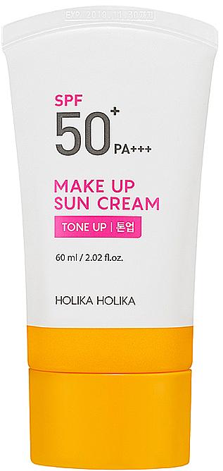 Getönte Sonnenschutzcreme für das Gesicht SPF 50+ - Holika Holika Make-up Sun Cream SPF 50+ PA+++