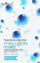 Düfte, Parfümerie und Kosmetik Feuchtigkeitsspnedende Tuchmaske mit Hyaluronsäure - Eunyul Natural Moisture Hyaluron Mask Pack