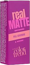 Düfte, Parfümerie und Kosmetik Foundation - Avon Real Matte Color Trend