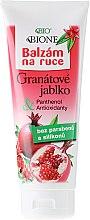 Düfte, Parfümerie und Kosmetik Handbalsam Granatapfel - Bione Cosmetics Pomegranate Hand Ointment With Antioxidants