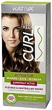 Düfte, Parfümerie und Kosmetik Aktivator für lockiges Haar - Kativa Keep Curl Superfruit Active