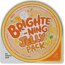 Düfte, Parfümerie und Kosmetik Aufhellende Tuchmaske für das Gesicht mit Zitrusfrüchten - Yadah Brightening Jelly Pack Face Mask