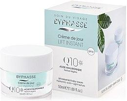 Düfte, Parfümerie und Kosmetik Tagescreme für das Gesicht mit Coenzym Q10 und Lifting-Effekt - Byphasse Lift Instant Cream Q10 Day Care