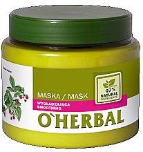 Düfte, Parfümerie und Kosmetik Glättende Haarmaske mit Himbeerextrakt - O'Herbal