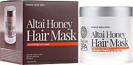 Düfte, Parfümerie und Kosmetik Haarmaske für coloriertes Haar - Natura Siberica Fresh Spa Russkaja Bania Detox Altai Honey Hair Mask