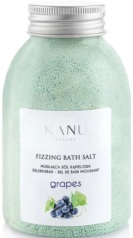 Badesalz mit Weintraube - Kanu Nature Grapes Fizzing Bath Salt