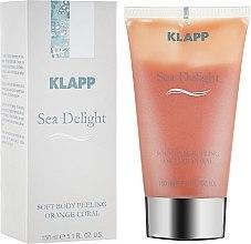 Düfte, Parfümerie und Kosmetik Mildes Körperpeeling Orange Koralle - Klapp Sea Delight Soft Body Peeling Orange-Coral