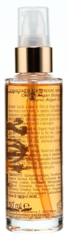 Flüssige Haarkristalle mit Arganöl - Brelil Extreme Brilliance  — Bild N2