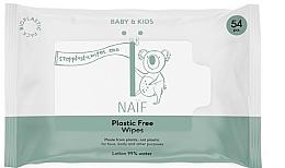 Düfte, Parfümerie und Kosmetik Feuchttücher für Babys und Kinder 54 St. - Naif Wet Wipes 54St Plastic Free