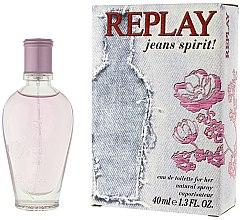 Düfte, Parfümerie und Kosmetik Replay Jeans Spirit! For Her - Eau de Toilette