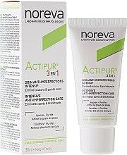 Düfte, Parfümerie und Kosmetik 3in1 Gesichtspflege für Problemhaut - Noreva Actipur Intensive Anti-Imperfection Care 3in1