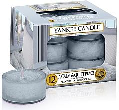 Düfte, Parfümerie und Kosmetik Teelichte - Yankee Candle Scented Tea Light Candles A Calm & Quiet Place